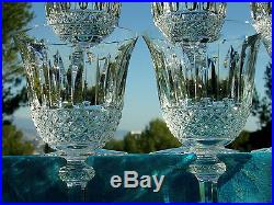 saint louis servicetommy6 verres vin bourgogne 17cm cristal taille estampille verres cristal. Black Bedroom Furniture Sets. Home Design Ideas