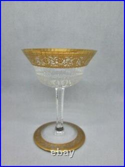 SAINT LOUIS THISTLE OR 1 superbe coupe à champagne