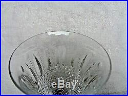 SAINT LOUIS TOMMY 5 VERRES A VIN DE BOURGOGNE CRISTAL 17 cm