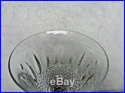 SAINT LOUIS TOMMY 6 VERRES A VIN CRISTAL 15 cm