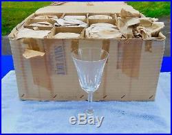 SAINT ST LOUIS 12 grands verres à EAU modèle CERDAGNE SIGNÉS 18 cm