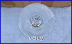 SAINT ST LOUIS 12 grands verres à VIN modèle CERDAGNE SIGNÉS 16,2 cm
