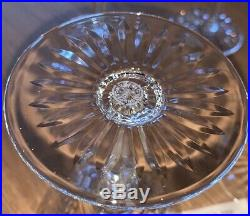 ST LOUIS 6 coupes à champagne TOMMY en cristal clair saint louis 1008