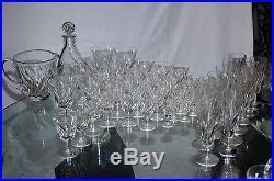 ST. LOUIS CARAFE en cristal taillé, modèle BIDASSOA SIGNE