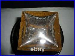 ST LOUIS THISTLE CARAFE A WHISKY CRISTAL 23,5 cm