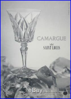 Saint Louis Camargue 6 Sektgläser Sektschalen Flutes A Champagne Cristal Taillé