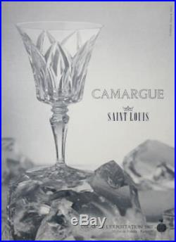 Saint Louis Camargue Decanter Broc Pichet Carafe A Eau Orangeade Cristal Taillé2