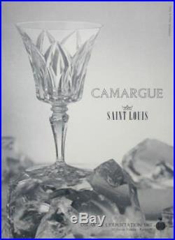 Saint Louis Camargue Decanter Broc Pichet Carafe A Eau Orangeade Cristal Taillé