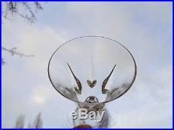 Saint Louis Cerdagne 6 Tall Water Glasses Verres A Eau 19 CM 19cm Cristal Taillé
