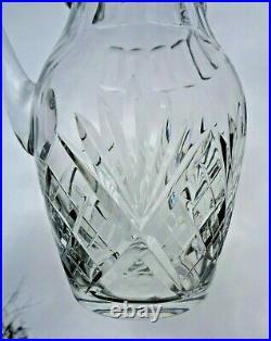 Saint Louis Chantilly Decanter Broc Pichet Carafe Eau Orangeade Cristal Taillé B