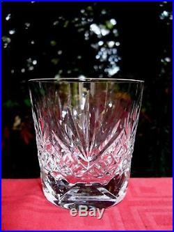 Saint Louis Chantilly Old Fashioned Whiskey Glass Verre Gobelet A Whisky Cristal