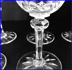 Saint Louis / Ensemble De Six Verres En Cristal Clair / A Vin / Modèle Provence