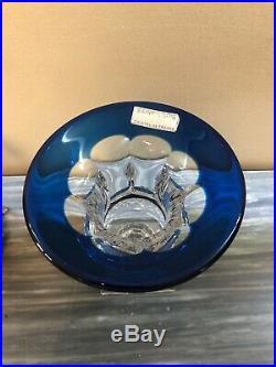 Saint Louis Grand Vase Medicis En Cristal Taille Ht 19,5 CM Modele Versaille