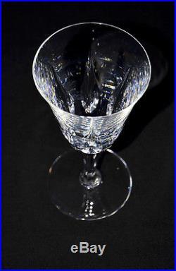 Saint-Louis. Important service de verres en cristal clair taillé, mod. Cerdagne