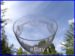 Saint Louis Manon 6 Wassergläser Wasserglas 6 Verre A Eau Cristal Gravé Kristall