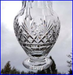 Saint Louis Massenet Decanter Broc Pichet Carafe Eau Orangeade Cristal Taillé Bb