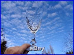 Saint Louis Massenet Water Glasses 6 Verres A Eau Vin 16cm 16 CM Cristal Taillé