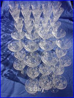 Saint Louis Niepce40 Verres Eau-bordeaux-porto-champagne Cristal Parfait Etat