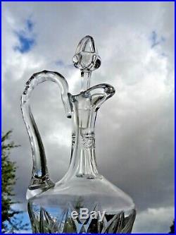 Saint Louis Sammy Provence Wine Decanter Carafe Aiguiere Pichet A Vin Cristal
