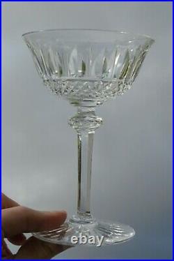 Saint Louis Service de 6 coupes à champagne en cristal taillé, modèle Tommy