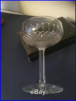 Saint Louis Service de 6 coupes à champagne en cristal taillé, modèle Vendôme