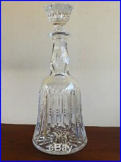 Saint Louis Superbe Et Rare Carafe Cristal Taille Modele Vologne
