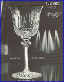 Saint Louis Tommy 4 Tall Fluted Sektgläser 4 Flutes A Champagne Cristal Taillé