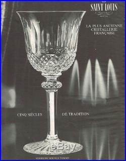 Saint Louis Tommy 6 Bol Ravier Ramequin Coupe A Dessert Apéritif Cristal Taillé