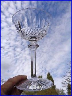 Saint Louis Tommy 6 Tall Sherbet 6 Coupes A Champagne Cristal Taillé Kristall