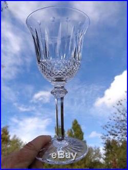 Saint Louis Tommy 6 Wine Glasses Weingläser Verres A Vin 15 CM Cristal Taillé