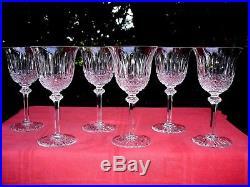 Saint Louis Tommy Wine Glasses Weingläser Verres A Vin 14 CM 14cm Cristal Taillé