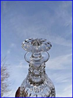 Saint Louis Trianon Wine Water Decanter Carafe A Vin Cristal Taille 19ème Xixème