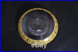 Saint Louis cristal Thistle or coupelle