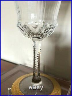 Saint Louis, verre à Eau, thistle, Cristal, xx°