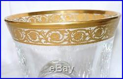 Seau A Glace En Cristal De St Louis Thistle Or Estampille