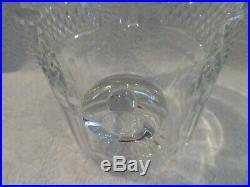 Seau à glace glaçons cristal Saint Louis Trianon crystal ice cube bucket b64