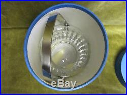 Seau à glaçon cristal saint louis taille navette Jersey crystal ice cube bucket