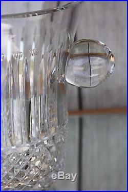 Seau à champagne en cristal taillé de Saint Louis modèle Tommy