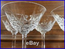 Série 8 Coupes a champagne cristal Saint Louis Modèle Tarn