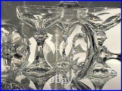 Série de 6 coupes à Vin de Champagne Saint-Louis Modèle Chambord