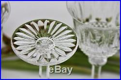 Série de 6 verres à eau n°2 en cristal taillé Saint-Louis modèle Tommy 18 cm