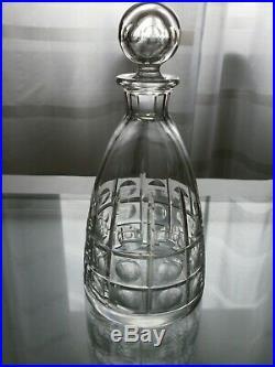 Service A Liqueur Carafe Et 8 Verres Cristal St Louis Signe