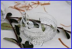 Service à glace en cristal de St Louis Trianon (coupe + 6 coupelles) NEUF +boîte
