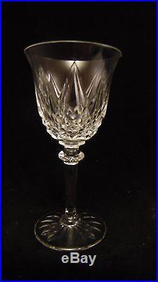 Service de 6 verres à eau en cristal de Saint St Louis modèle Provence 17 cm