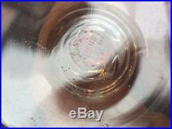 Service de verres en cristal de Saint Louis vers 1950