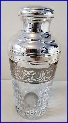 Shaker Vintage Saint Louis En Cristal