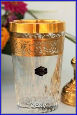 Shaker en cristal de St Louis modèle Thistle Or