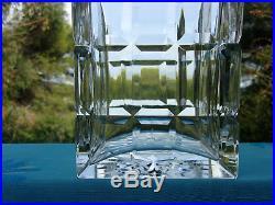 St Louis Servicemanhattancarafe A Whisky 23,5cm Cristal Taille Magnifique Etat