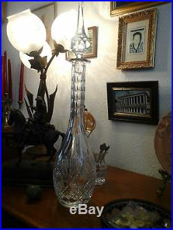 Sublime Carafe Cristal Saint Louis D'avant 1935! Aucun Defaut Objet De Famille