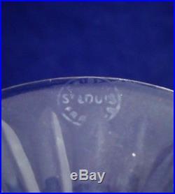 Suite de 6 flûtes à champagne cristal Saint LOUIS Tommy 20,6 cm réfA19/3